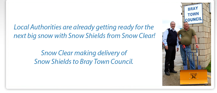 Snow Shields Sale to Bray Town Council